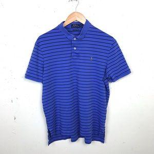 Ralph Lauren Pima Soft Touch Striped Polo Shirt